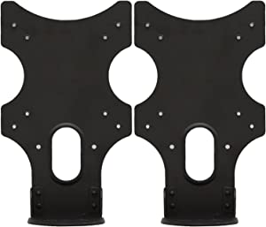 WALI VESA Mount Adapter Brackets for Acer Monitors G226HQL, G246HYL, G247HL, G277HL, S200HQL, S220HQL, S230HL, S232HL, S240HL, and S242HL (VAC001-2), 2 Packs, Black