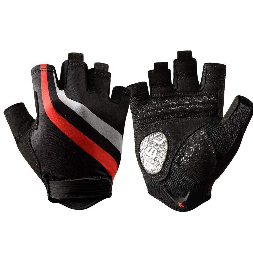 Hexiansheng Fitness Gloves Half Finger Fitness Gloves Breathable Abrasion Resistant Anti-Skid Gloves