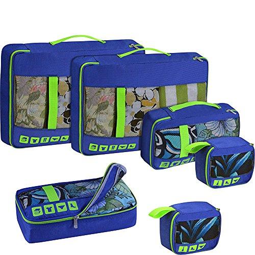 us-traveler-alamosa-6-piece-packing-cube-set-royal-blue