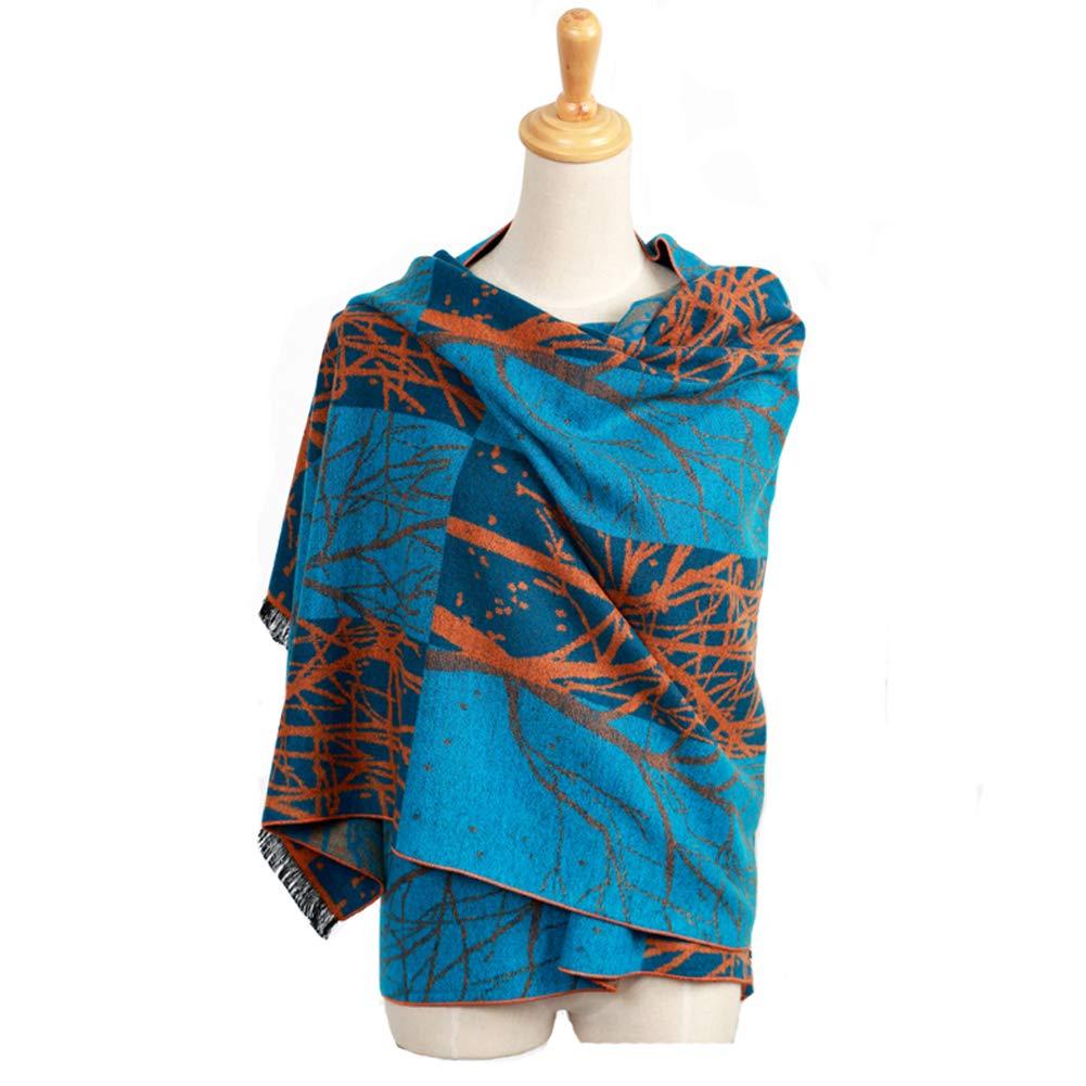 D YAOYUEUS Women's Long Cashmere Scarf Shawl Pashmina Winter Warm Scarves Wraps
