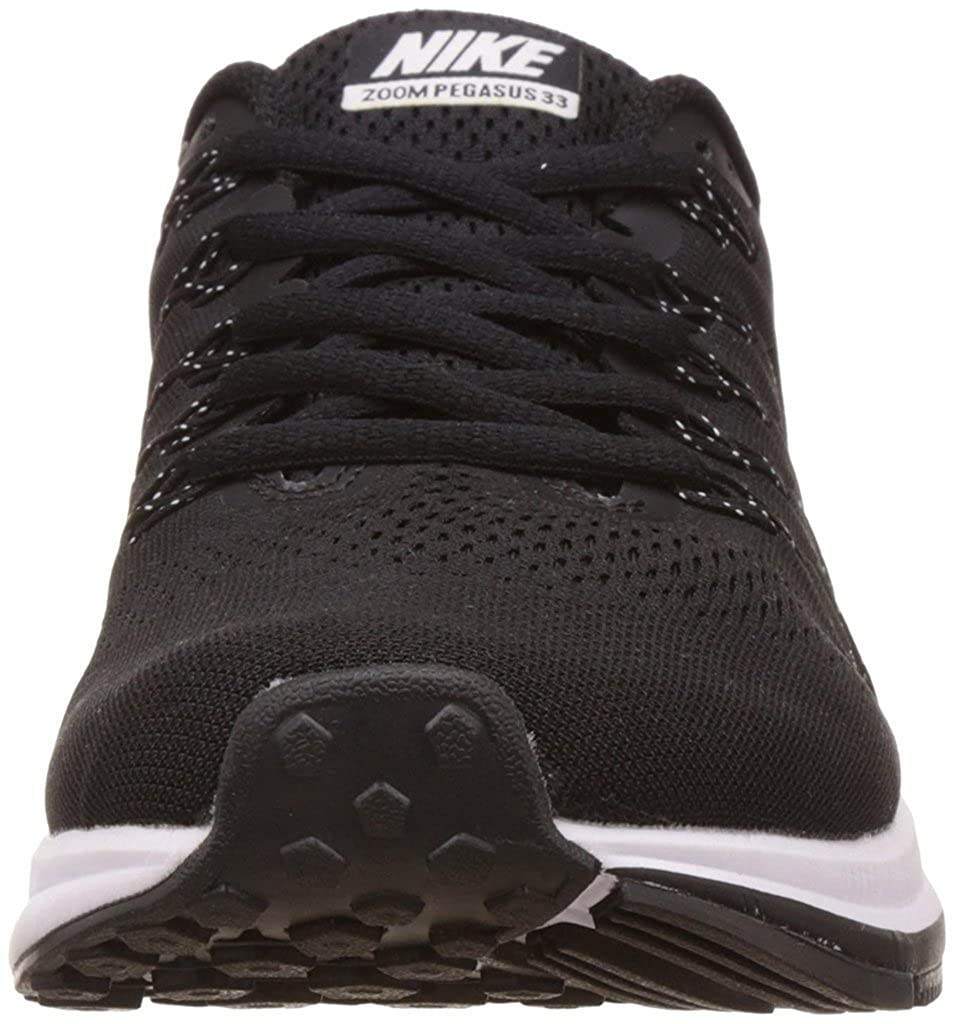 2869e11f2d3e Nike Men s Air Zoom Pegasus 33 Running Shoes - 6 UK Black White  Buy Online  at Low Prices in India - Amazon.in