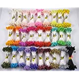 Multicolor 3mm Pearl Flower Stamen(1800pcs)
