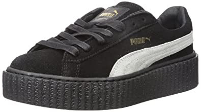 the latest f4569 356ea PUMA Womens Rihanna x Suede Creepers