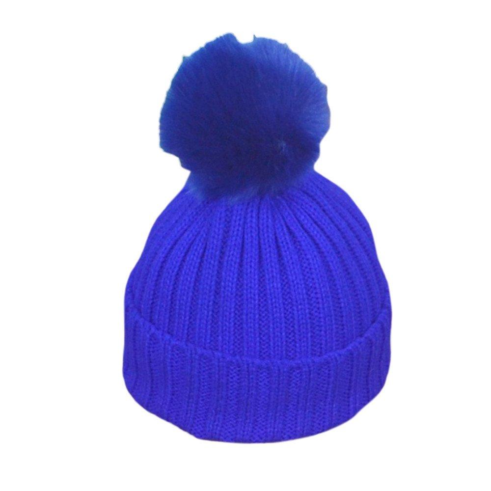 Nuevo estilo hecho punto el sombrero suave para el ni/ño del beb/é embroma la muchacha del muchacho RETUROM Sombreros de beb/é