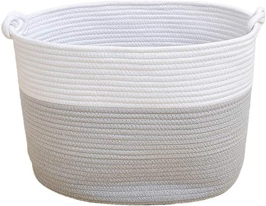 Cabilock cesto de Ropa de Cuerda de algodón 42 x 31 x 29 cm Cesta ...