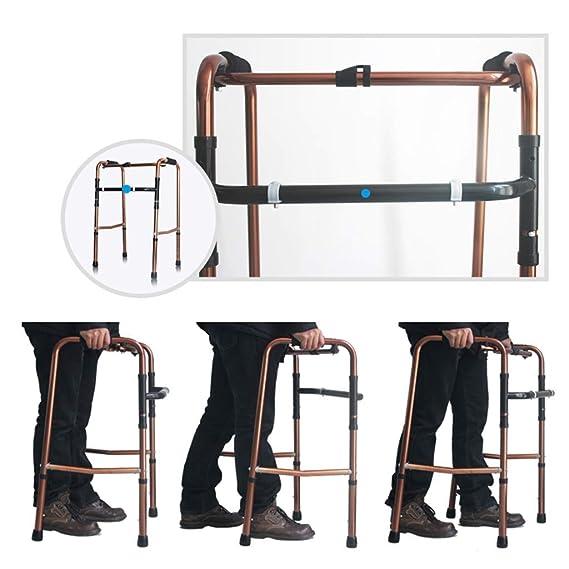 ZXCMNB Walker-Lightweight Medical Walker De Aluminio-Roller De ...