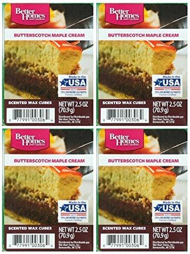 Better Homes and Gardens Butterscotch Maple Cream Wax Cubes - 4-Pack from Better Homes & Gardens