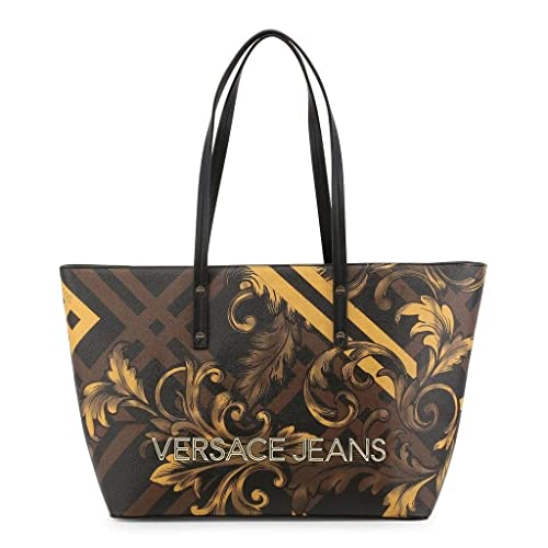 Versace Jeans BORSE E1VSBBK770785M27 LINEA K DIS. 7 899+901 M27 32 45 X 13  X 26CM  Amazon.it  Scarpe e borse 7c6191eabc2