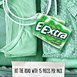 EXTRA Spearmint Sugarfree Chewing Gum, 15 Pieces