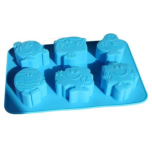 X-Haibei Bob Esponja jabón Chocolate molde de silicona ...
