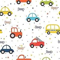Papel De Parede Infantil Para Menino Carros Coloridos