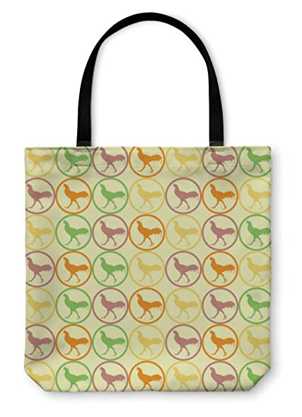 Merveilleux Gear New Tote Bag, Shoulder Tote, Hand Bag, Cock Chicken Pattern, Large