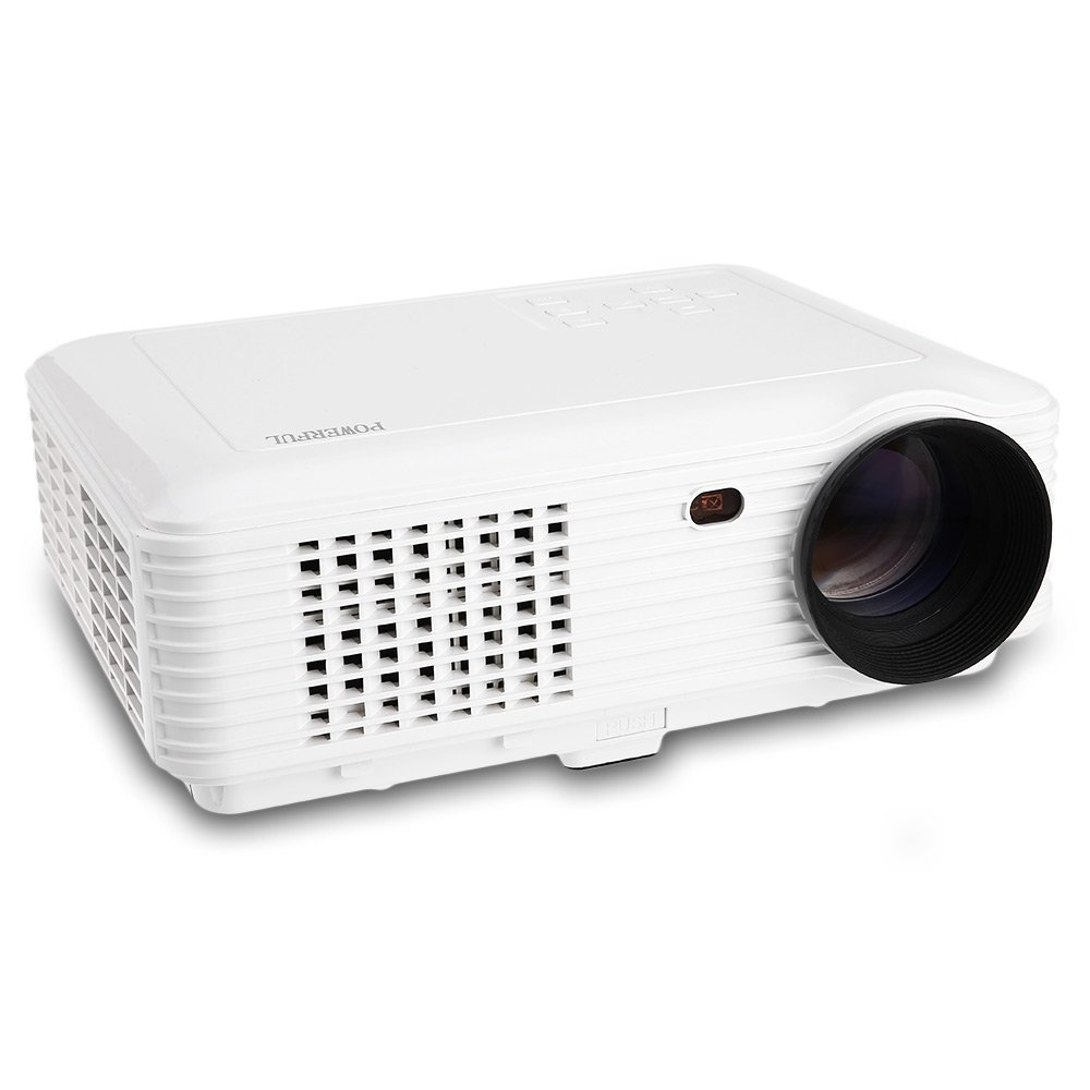 Sv 226 Projector Education Home Office 3d Hd 1080p White Cus In226 Uk Plug 50