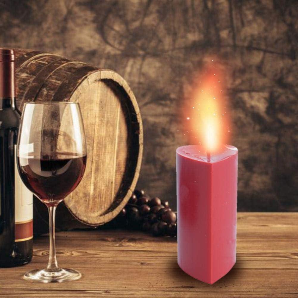DIY Kerzenherstellung Liefert luckything Kerzenform Handgemachte Aroma Kunststoff Kerze Form DIY Kerze Form PC Kerze Form Handstehendeigte Kunststoff-Kerzenform Herzf/örmige Kerzenform