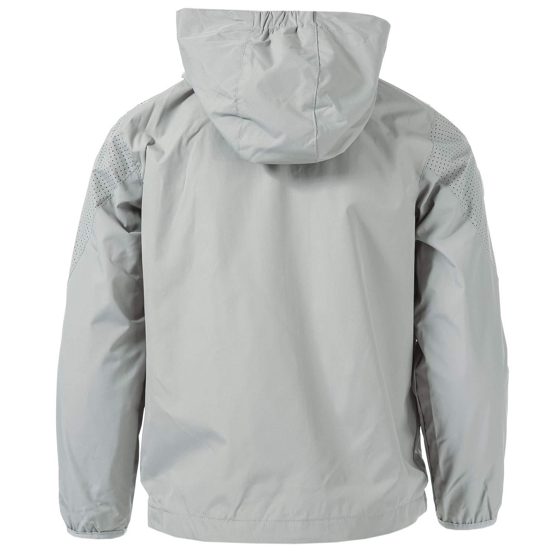 Kangol Boys Camden Lightweight Jacket 4-5 Grey