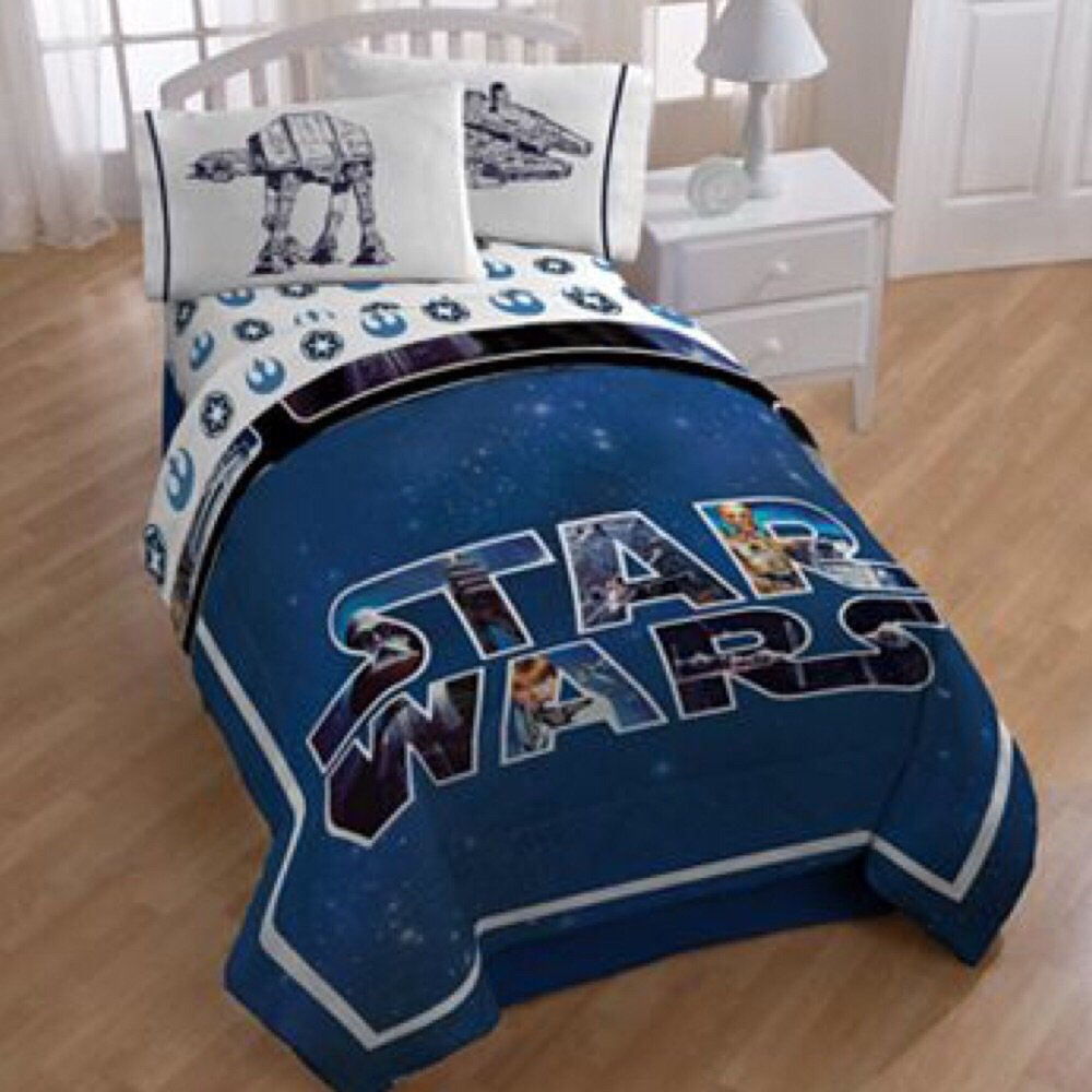 Exceptional Star Wars Saga Classic Bedding Set · Coordinating Sheets · Reversible  Comforter