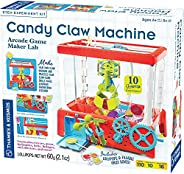 Thames & Kosmos Candy Claw Machine STEM Experiment Maker Lab   Build Your Own Arcade-Style Claw Machine  