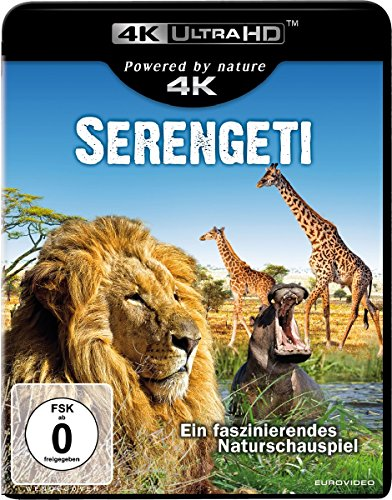 Serengeti  (4K Ultra HD) [Blu-ray]