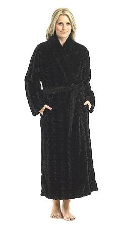 Slenderella 100% Luxury Velvet Chenille Dressing Gowns - Colours + ...
