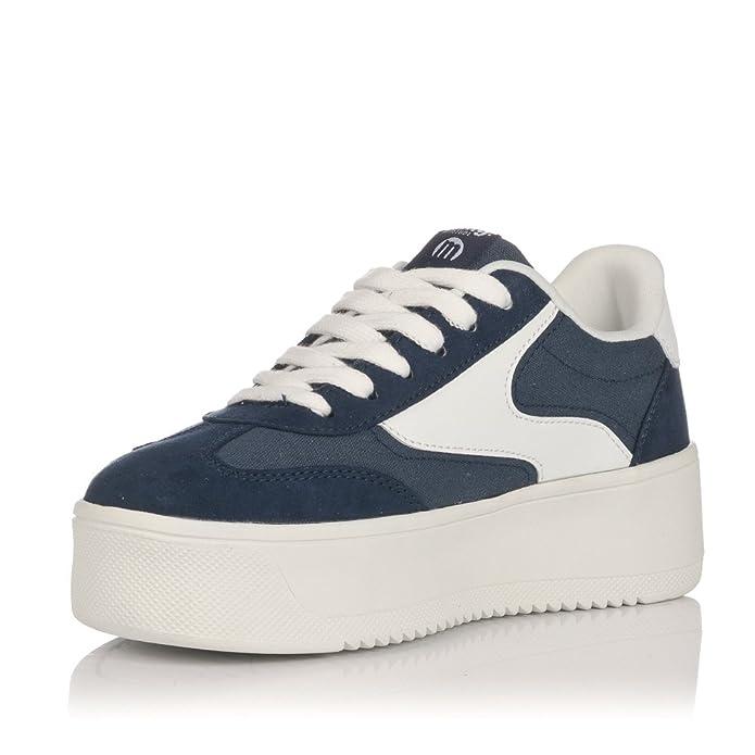 719bd138702 Sneaker Mustang Wavey 69180 Azul Marino  Amazon.es  Zapatos y complementos