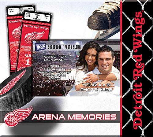 NHL Detroit Red Wings Scrapbook