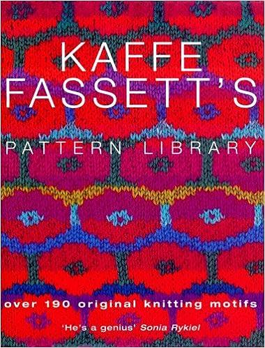 Kaffe Fassett\'s Pattern Library: Amazon.de: Kaffe Fassett ...