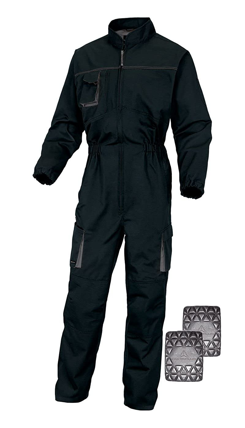 Deltaplus Delta Plus M2co2 Mach2 Mens Kneepad Pocket Workwear Overalls Coveralls Boilersuit With Kneepads