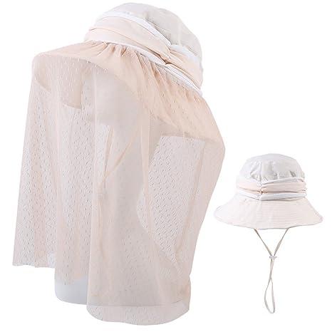 HAIPENG Gorra Verano Gorros para El Sol Sombreros Viseras Gorras Gorro De Pescador  Pare Mujer con 42532c2bb55
