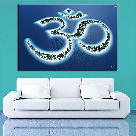 Rjjwai Cuadro En Lienzo Living Room Wall Art Framework 1 ...