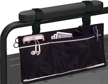 Amazon.com: Bolsa lateral para silla de ruedas y andador ...