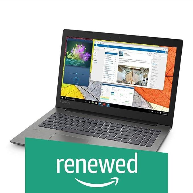 Renewed  Lenovo Ideapad 330 AMD E2 15.6 inch Laptop  4 GB/500 GB HDD/DOS/Onyx Black/2.2kg , 81D600BWIN Laptops