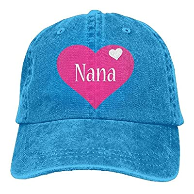 Nana Baseball Caps Vintage Durability Snapback for Women
