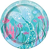 Mermaid Dessert Plates, 8ct