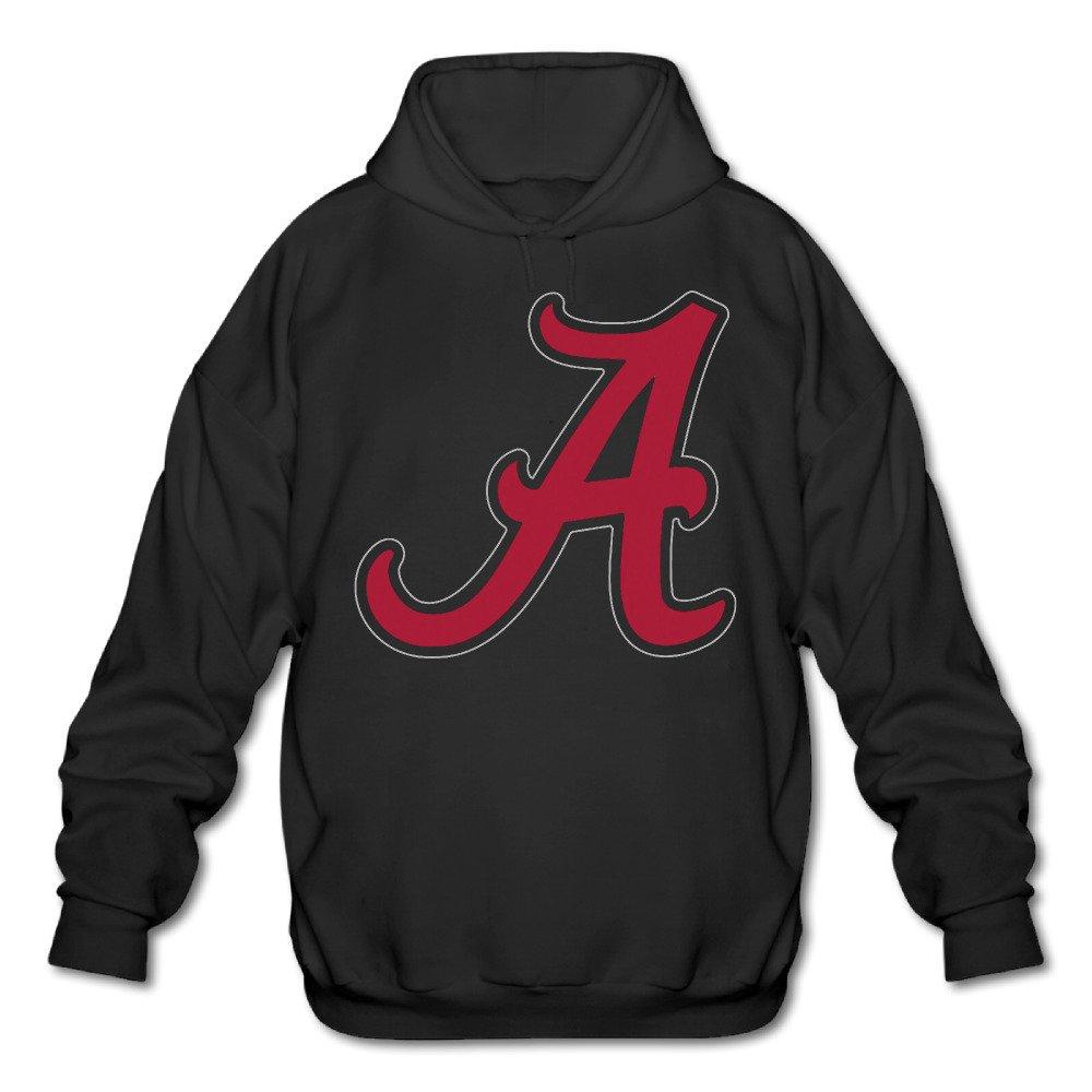 POOZ Men's Alabama Crimson Tide Football Hoodies Black