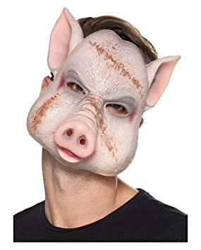Horror-Shop Máscara De Cerdo Malvado