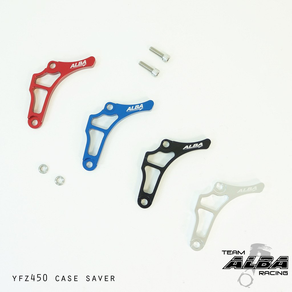 Yamaha YFZ 450 Case Saver Red (2004-2009/2012-2013) by Alba Racing (Image #2)