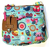Lily Bloom Camilla Crossbody Bag in Owl Always Love You Pattern