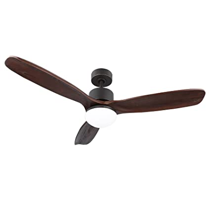 Amazon co z 52 ceiling fan light old bronze finish with 3 dark co z 52 ceiling fan light old bronze finish with 3 dark walnut blades aloadofball Images