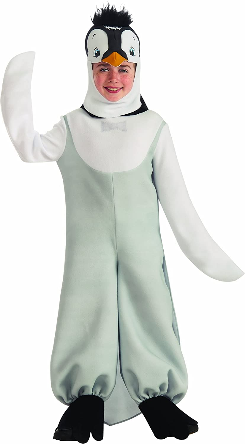 Amazon.com: Happy Feet del Niño Penguin Costume Deluxe, S ...