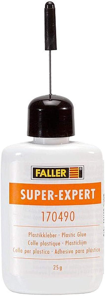 Faller 170490 Super Expert Plastikkleber für alle Kunsstoffmodelle  25 Gramm NEU