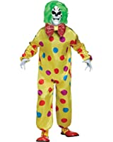 Color-changing Killer Clown Adult Costume