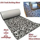 yuanjiasheng EVA Faux Teak Decking Sheet for Boat