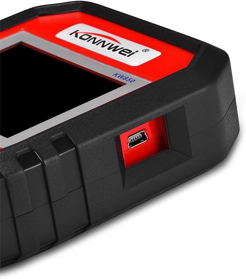 KONNWEI kw850/OBD2/dispositivo diagnostico lettore codice di errore tester per auto lettore di codice Multiplexer per Scanner diagnostico OBD2/veicoli universale per auto camion