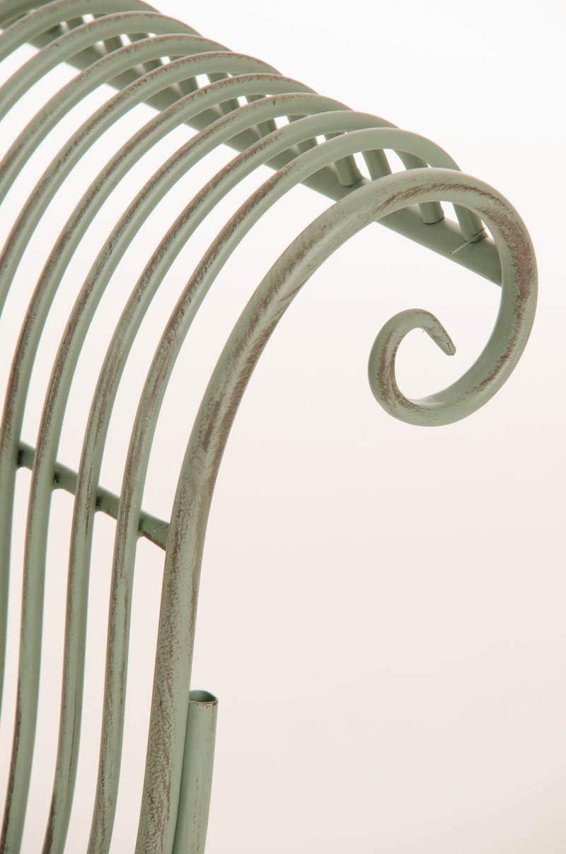 Antik wei/ß CLP Tumbona De Jardin Karma En Estilo R/ústico I Banco En Dise/ño Chaiselongue De Exterior I Elegante Tumbona Banco De Terraza I Color