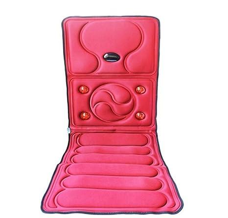 AMYMGLL Multi-función de masaje calentado cojín colchón cuerpo descarga eléctrica masaje manta masaje salud