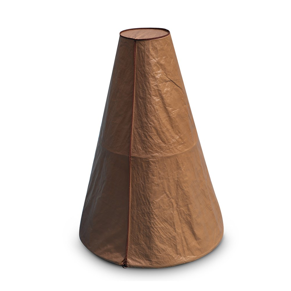 Abba Patio Fountain Cover Outdoor Water Resistant, 68 inches, Brown