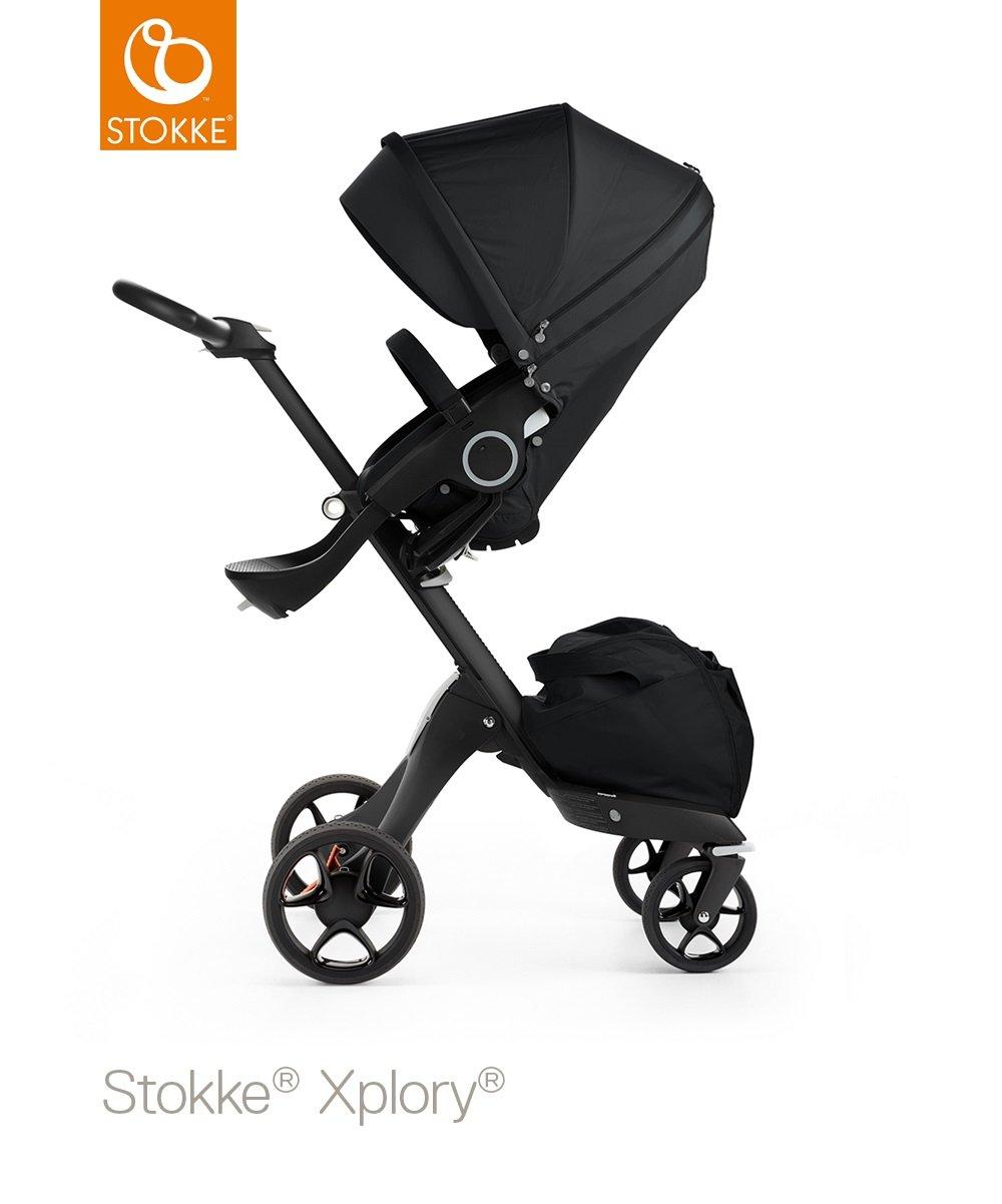 Stokke Xplory V5 negro paseo - Negro Libre taza soporte/sombrilla: Amazon.es: Bebé