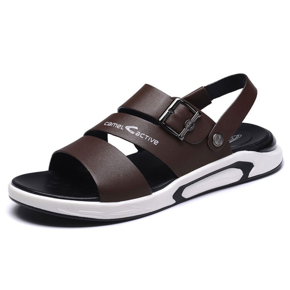 LEDLFIE Sandali da Uomo Summer Casual Beach scarpe Platform Slippers