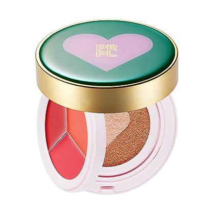 Amazon.com: Prpl Kiss y corazón cojín verde Edition ...