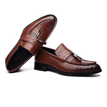 Jiuyue-shoes, Zapatos de Cuero de la PU de los Hombres Zapatos de Piel